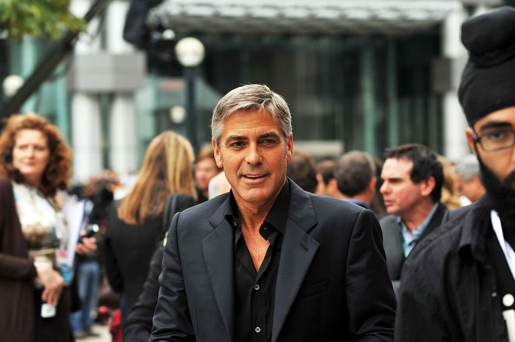 George Clooney is among many Celebrities Who Play the Lottery